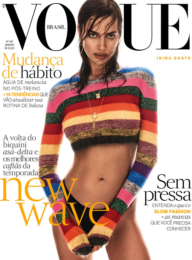 Irina Shayk Vogue Brazil January 2017 2