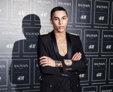 Olivier Rousteing designs stamp for French post office