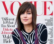 Dakota Johnson is Vogue's February Cover Star