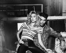 Hailey Baldwin and Charlotte Mckinney front Guess Campaign