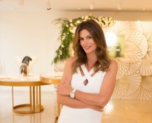 Cindy Crawford Opens Omega Exhibition