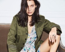 Bella Hadid and Anwar Hadid front Zadig & Voltaire's newest campaign