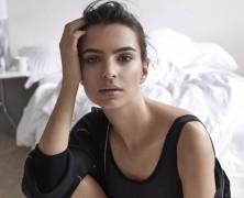 Emily Ratajkowski Fronts DKNY Intimates Campaign