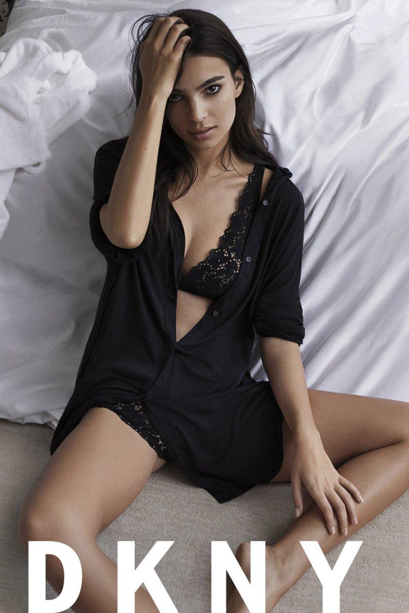 Emily Ratajkowski DKNY SS17 Intimates Campaign 03