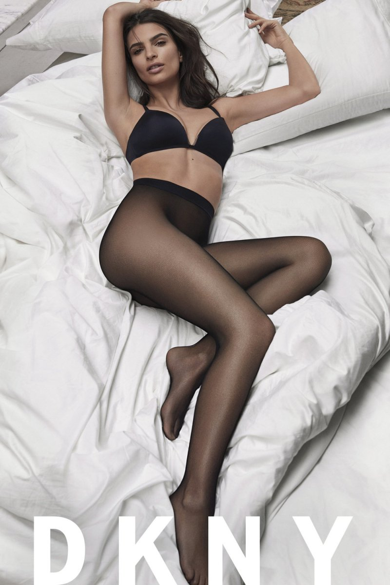 Emily Ratajkowski DKNY SS17 Intimates Campaign 09