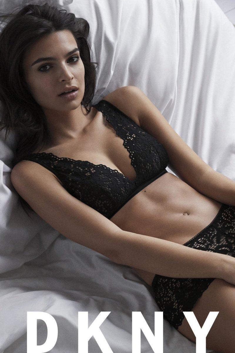 Emily Ratajkowski DKNY SS17 Intimates Campaign 12