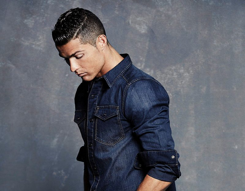 Cristiano Ronaldo denim collection