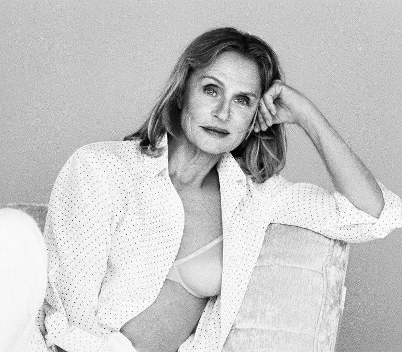 Lauren Hutton Calvin Klein Spring 2017 Campaign