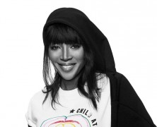 Naomi Campbell and Diesel design charity collection