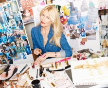 Claudia Schiffer launches her first make-up collection