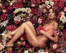 Heidi Klum unveils new Intimates collection