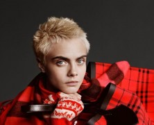 Burberry launches Christmas campaign with Cara Delevingne