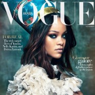 Rihanna fronts Vogue Arabia's November issue