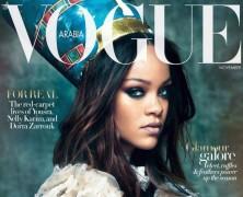 Rihanna fronts Vogue Arabia's November issue