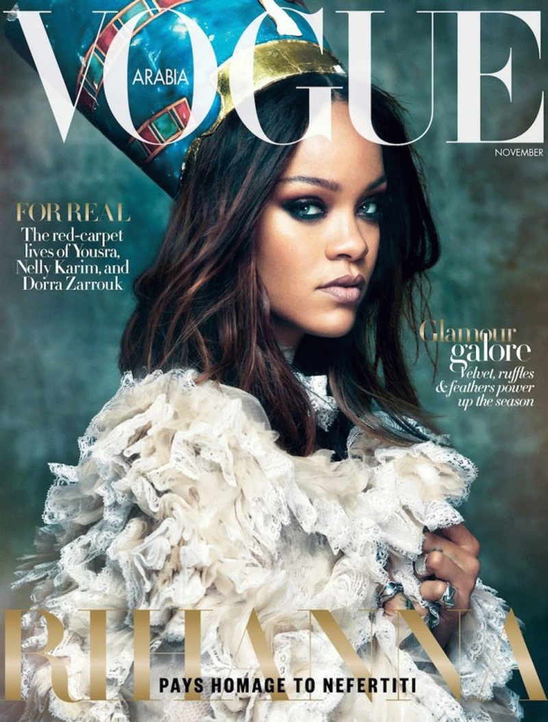 Rihanna Vogue Arabia November 2017