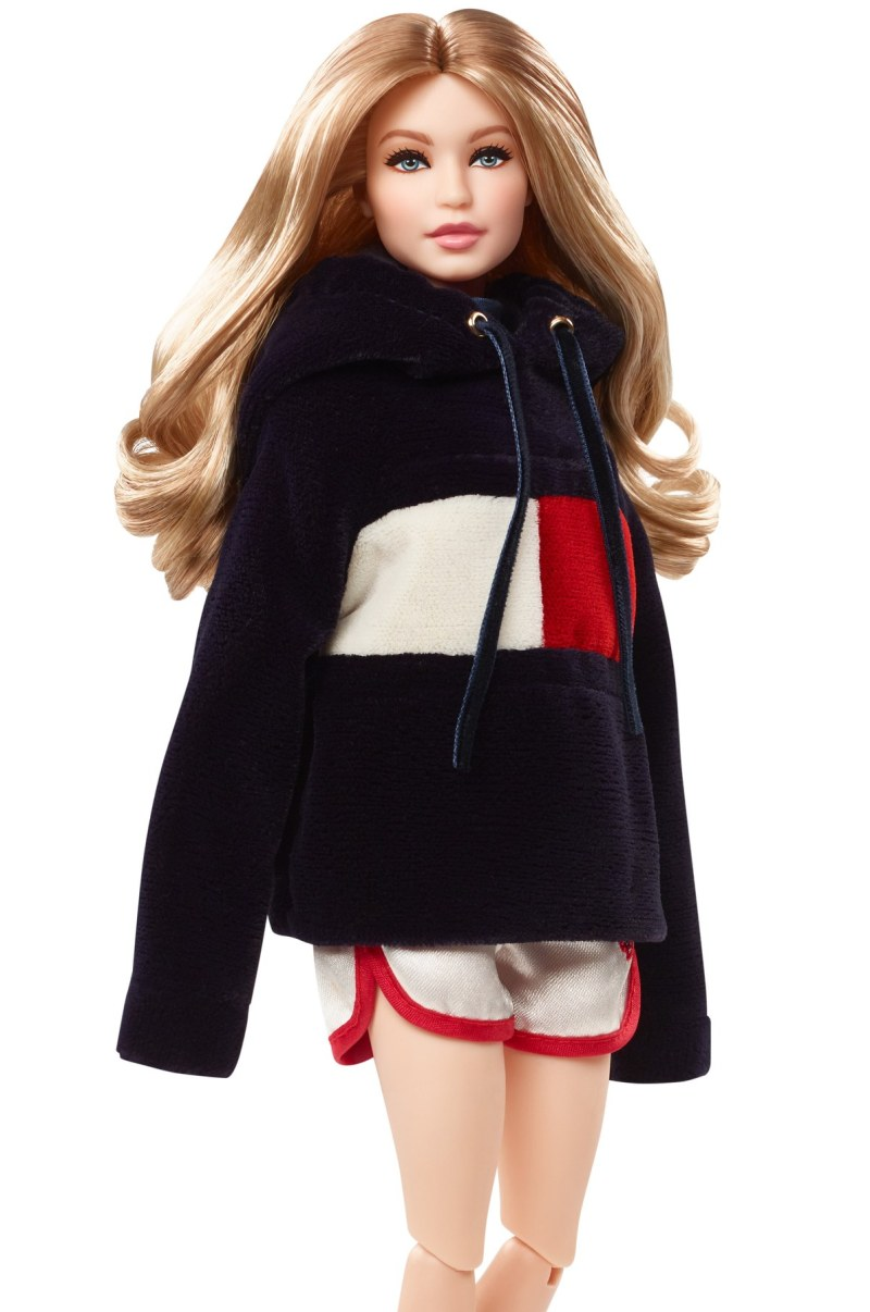 8b5ce6985ea2dc Tommy Hilfiger launches a Gigi Hadid Barbie doll for Christmas