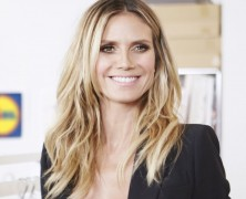 Heidi Klum and Lidl launch a third clothing collection