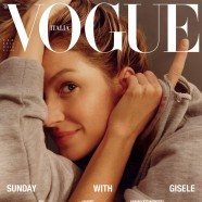 Gisele Bundchen goes make-up free for Vogue Italia's february issue