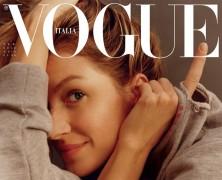 Gisele Bundchen goes make-up free for Vogue Italia's february issue