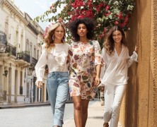 Andreea Diaconu, Anna Ewers and Imaan Hammam star in H&M's spring 2018 campaign film