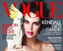 Kendall Jenner Graces the Cover of US Vogue