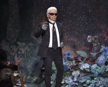Karl Lagerfeld gives away prom dresses
