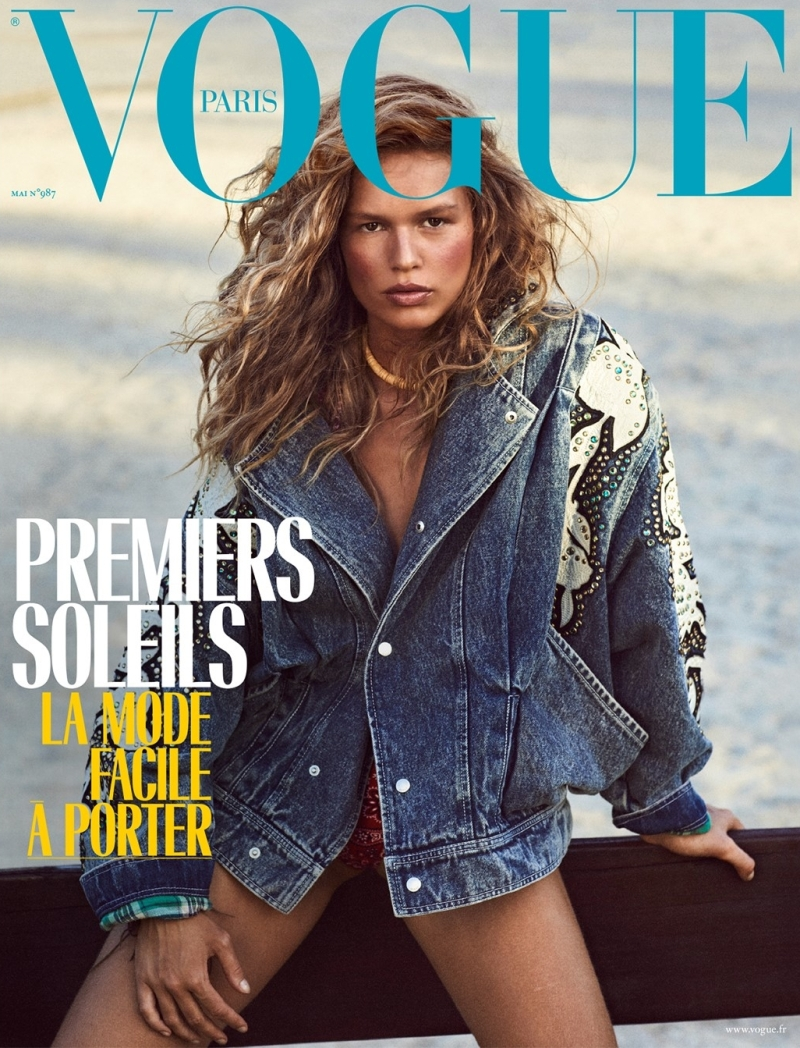 Anna Ewers Vogue Paris May 2018