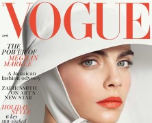Cara Delevingne is British Vogue's June Cover Star