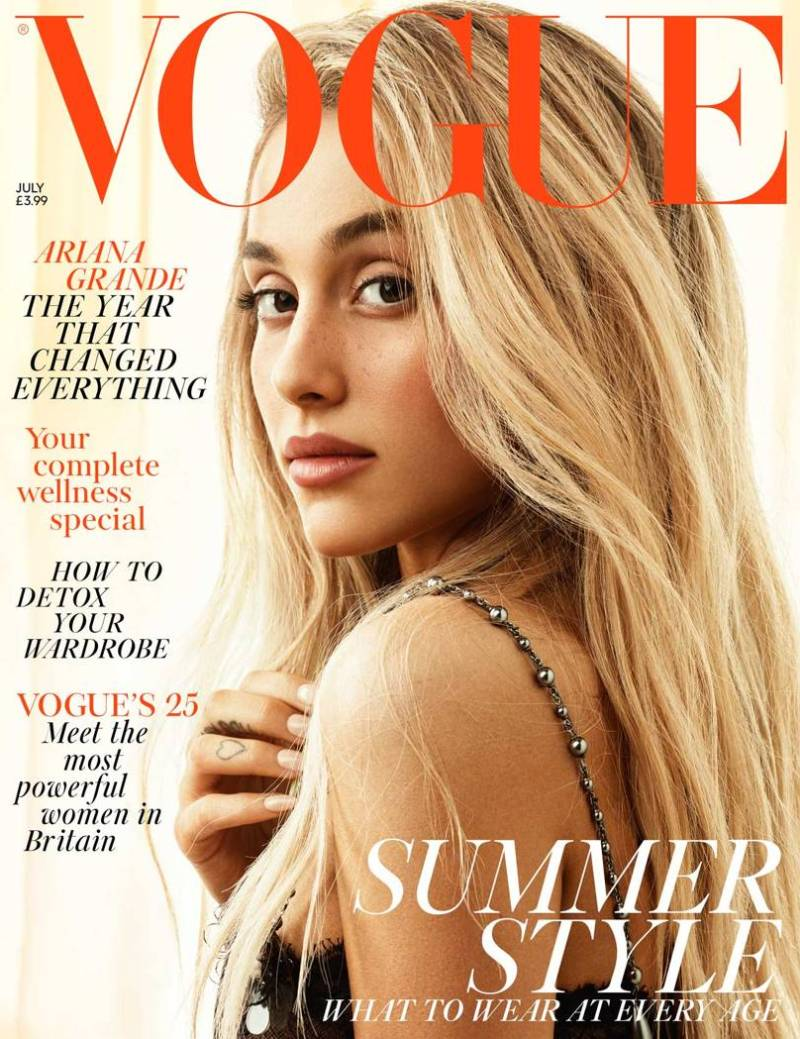 Ariana Grande July Vogue