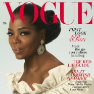 Oprah Winfrey graces the cover of British Vogue