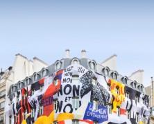 Dior transforms Paris boutique facade for new campaign