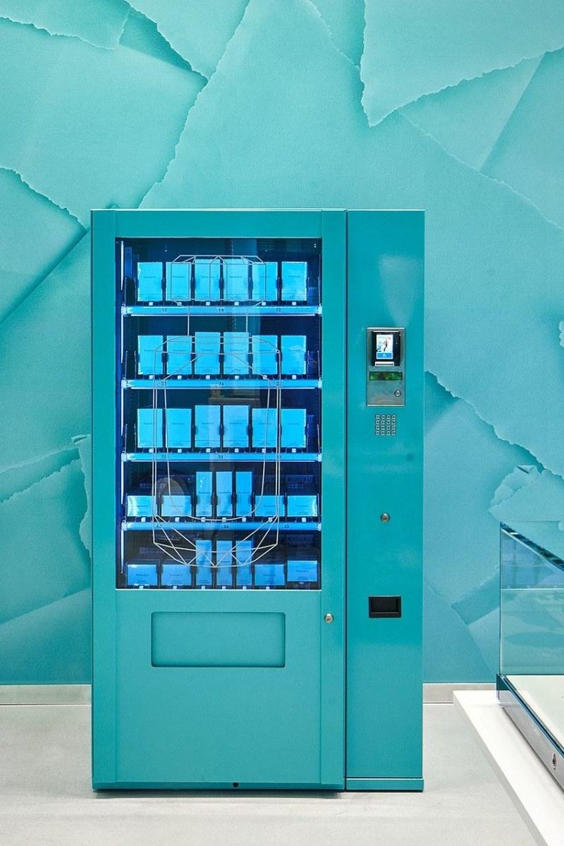 Tiffany Vending Machine