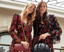 Irina Shayk and Stella Maxwell design bags for The Kooples