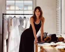 Alexa Chung makes her London Fashion Week debut