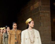 Chanel's Metiers d'Art collection homages ancient egypt