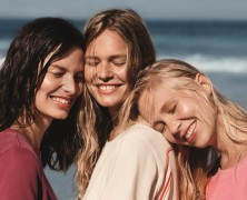 Anna Ewers fronts Marc O'Polo's latest campaign alongside her sisters