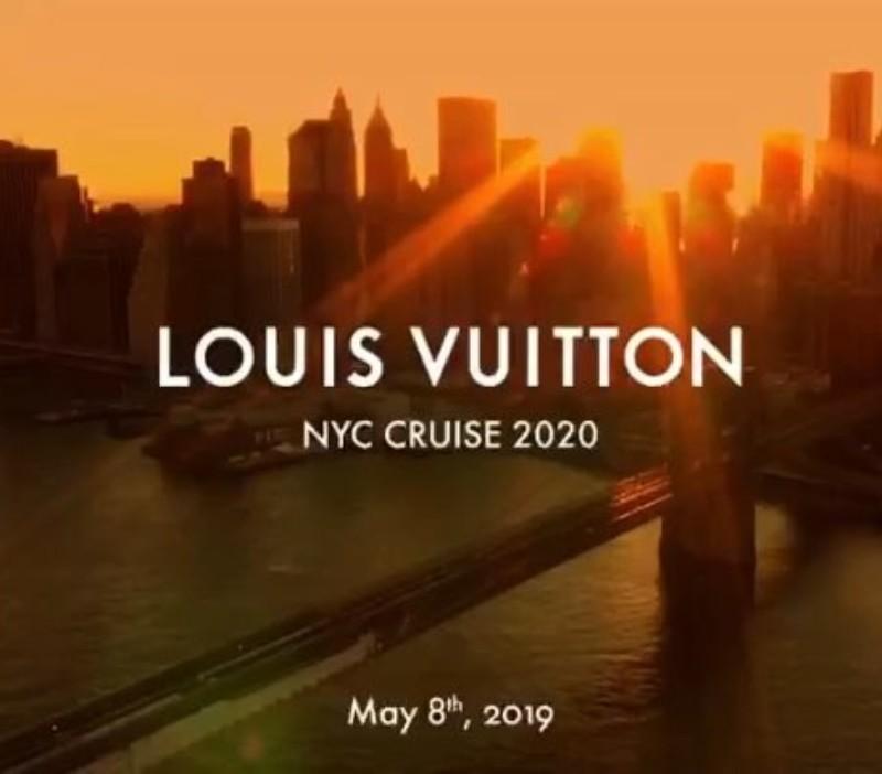 Louis Vuitton Cruise 2020 collection show