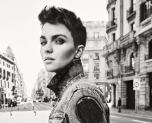 Ruby Rose Stands Out in the new G-star Raw S/S'19 Campaign